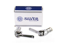 Dia Compe Silver friction bar end shifters - 5/6/7/8/9 speed