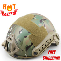 Tactical Ballistic Aramid Tac Helmet High Cut Combat Armor Nij Iiia