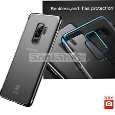 NEW COVER FOR SAMSUNG GALXY S9+ ELECTROPLATING FRAME PC PROTECTIVE BACK COVER
