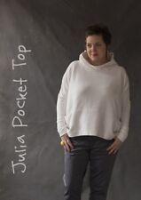Julia Pocket Top * Sew me Something SEWING PATTERN Beginners * SIZES 8-22 * NEW