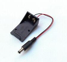 Neu 5.5*2.1 mm 9V Battery Holder Box DC Plug Socket Batteriehalter Für Arduino