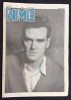 NME 7 June 1986 Morrissey Cover Laurie Anderson Pet Shop Boys Cactus World News
