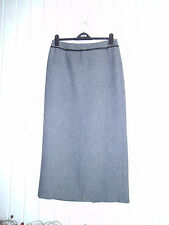 BNWOT - LADIES BLACK & WHITE TWEEDY-LOOK MAXI SKIRT BY NEXT - SIZE 12