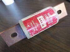 BUSSMANN 64400 WELDER LIMITER-  IR 200 kA, 600VAC or LESS - USED