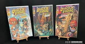 Dark Horse The Dirty Pair Sim Hell Remastered Issues 1-3 (2001) Bagged & Boarded