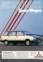 0038MIT Mitsubishi Space Wagon Prospekt 1983 9/83 deutsch brochure broszura Auto