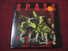 SPAZZ Crush Kill Destroy LP 625 reissue Man Is The Bastard No Less No Comment