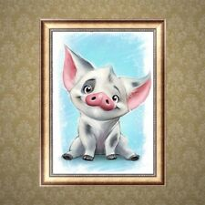Cartoon Pig 5D Diamond Painting Embroidery DIY Cross Stitch Home Decor Craft