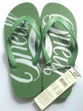 O'NEILL SCRIPT MEN'S WOMEN'S FLIP FLOPS BEACH POOL SANDALS GREEN UK6 EU39 BNWT