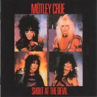 MOTLEY CRUE - SHOUT AT THE DEVIL (+5 Bonus)(1983/2000) CD Jewel Case+FREE GIFT