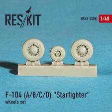ResKit 1/48 F-104A/B/C/D Starfighter Wheel Set