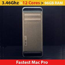 Apple Mac Pro 3.46Ghz 12-Core /*MB535LL/A-CTO*/  96 GB RAM / ATI 5770 /OSX 10.11