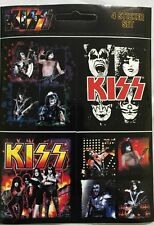 Kiss Sticker Set of Four