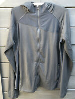 Columbia Size XL Womens Black Full Zip Hooded Jacket Polyester Blend Omni Wick