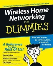 Wireless Home Networking For Dummies (For Dummies (Computer/Tech))-ExLibrary