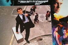 James Bond 007 THE WORLD IS NOT ENOUGH original US Lobby Cards 12 Stills