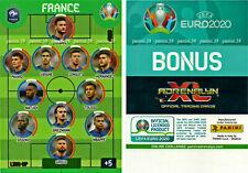 "RARE !! XXL LIMITED EDITION Card FRANCE TEAM ""EURO 2020 ADRENALYN"" Panini"