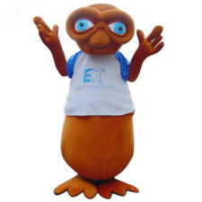 E.T.Alien Mascot Costume Halloween Party Fancy Dress Adult Size Outfit Teens @