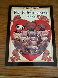 "Ted Menten ""The TeddyBear Lovers Catalog"" Mint Condition 1983 1st printing"