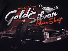 World Famous Gold And Silver Pawnshop Pawn Stars Shop  Black T Shirt S OLD MAN