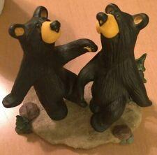 Bearfoots Bear Figurine by Jeff Fleming of Dancing Bears Called Bear Two Step