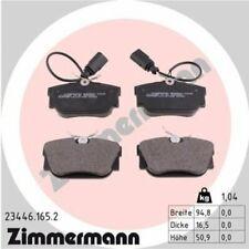 1x Bremsbelagsatz  Scheibenbremse ZIMMERMANN 23446.165.2