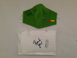 Trey Anastasio Green Clone Mask Signed WaterWheel Official Sold Out IN HAND!