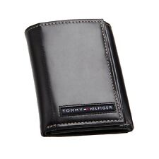 New Tommy Hilfiger Cambridge Leather Trifold Wallet