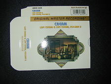 "MFSL UDCD 2-625 Cream ""Live Cream/Live Cream Vol 2"" ART SLIPCASE ONLY * NO CD's*"