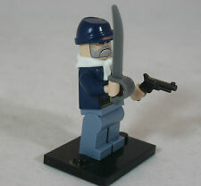 ACW Lego CIVIL WAR Military Figure UNION INFANTRY Federal US ARMY Rifle OFFICER