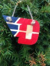 Dayton Flyers Handmade Wooden Ornament