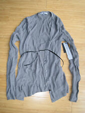 Classiques Entier Cardigan gray grey small S Brand New BNWT