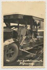 Foto Unfall-Crash Deutsche-Reichspost 30er Jahre (2398)