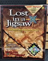 NEW BUFFALO GAMES LOST IN A JIGSAW THE DIAGONAL MAZE PUZZLE FACTORY SEALED 1997