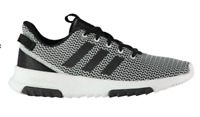 ADIDAS CloudFoam Racer TR Mens Trainers Black/White Size UK 9.5 US 10 *RefCRS39