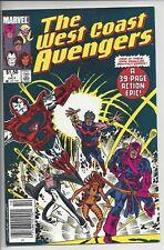 West Coast Avengers 1 (1985) -VF+(8.5) $1.50 Canadian Variant