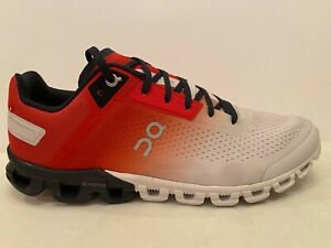On Cloud (Cloudflow) Men's Running Shoes Swiss Engineering Red Multicolor US 11