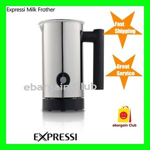 Coffee Milk Frother & Warmer Electric Automatic Cappuccino Latte Expressi eBC