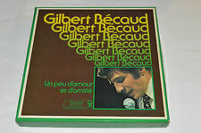 GILBERT BECAUD Un Peu d'Amour et d'Amitie 8-LP BOX SET Reader's Digest Vinyl Gil