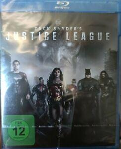 BLU-RAY • DC COMICS • ZACK SNYDER • JUSTICE LEAGUE • NEU OVP