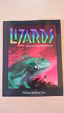 Lizards: Play by Mail Rulebook (Flying Buffalo)
