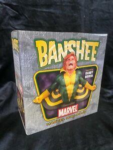 "BOWEN MARVEL AVENGERS X-MEN FANTASTIC FOUR ""BANSHEE"" MINI BUST FIGURE STATUE"