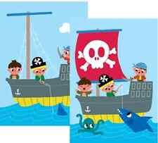 *Lustige*Wackel&Postkarte*Kindergeburtstag*Piraten*10 x15cm