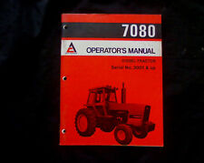 Allis Chalmers 7080 tractor Owners, Operators Manual