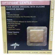 "Optifoam Gentle Border Foam Dressing 6"" x 6"" (Box of 10) Medline # MSC2066EPZ"