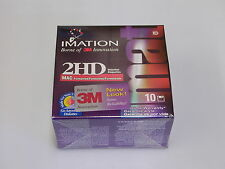 NEW Imation 2HD Diskettes FLOPPY DISK 1.40MB formatted 10 pack