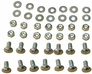 1968-1972 Chevy Nova Front & Rear Bumper Bolt Kit