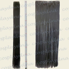 "Black Hair Weft Extention (3 pieces) - 40"" High Temp - Cosplay DNA Wig 8001"
