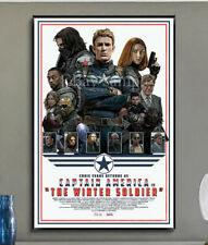 2C278 CAPTAIN AMERICA  Movie 4 Deco Home Print Art Silk Poster