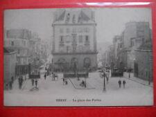 BREST  :  La Place des Portes.